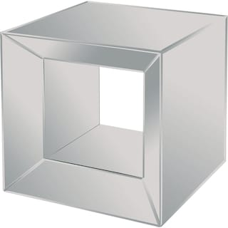 Nalon mirrored Accent Table