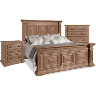 Frosti 5-Piece King Bedroom Package with Chest and Nightstand