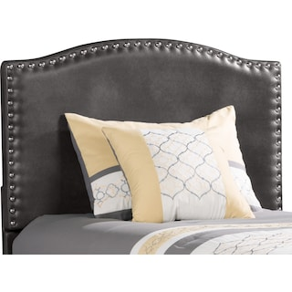 Carberry Twin Headboard – Aged Grey