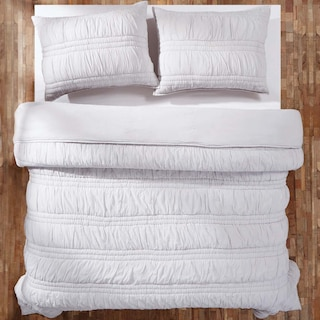 Valentine Silver Cloud Queen Set - 1 Quilt & 2 Shams