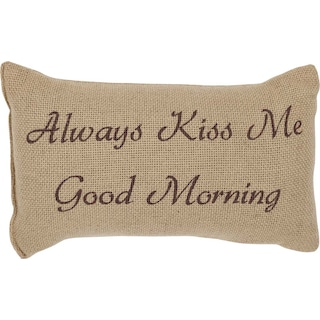 Rémi Natural Pillow Always Kiss Me Good Morning