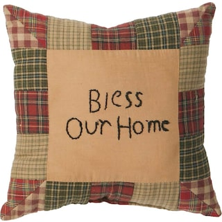 Thibault Tea Cabin Pillow Bless Our Home