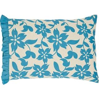 Coralie Azure Pillow Case - Set of 2