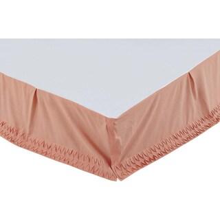 Aurélie Apricot King Bed Skirt