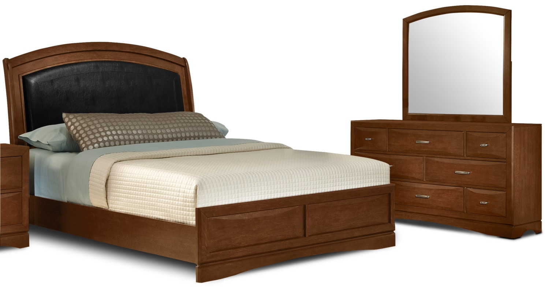 Bedroom Furniture - Gibbons 5-Piece King Bedroom Package
