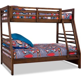 Stanson Twin/Full Bunk Bed – Rustic