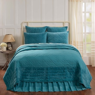 Juliette Teal Queen Quilt