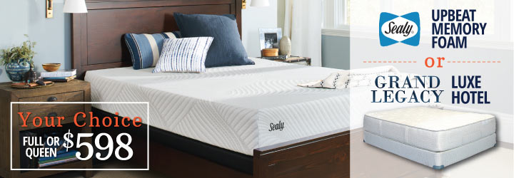 certain exclusions apply - Sealy Memory Foam Mattress