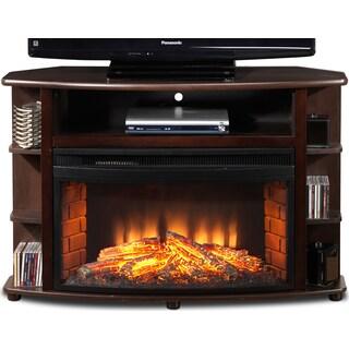 Blaze Corner Fireplace TV Stand
