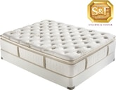 "Mattresses and Bedding-""C"" Series Luxury Plush EPT California King Mattress/Boxspring Set"