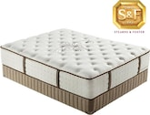 "Mattresses and Bedding-Luxury Estate ""L"" Series Luxury Firm King Mattress/Boxspring Set"